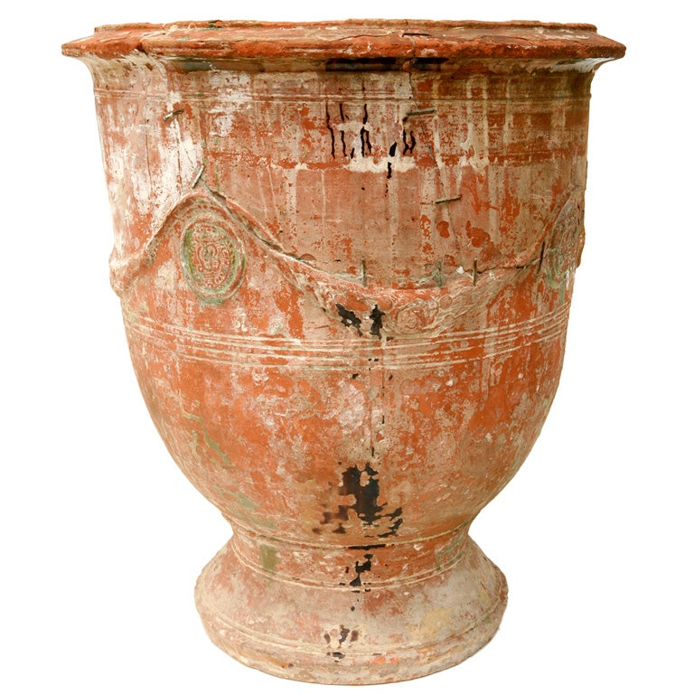 Antique Terra Cotta French Pot At 1stdibs