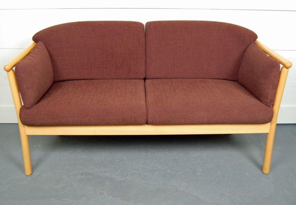 Swedish Modern Loveseat Sofa Settee 2