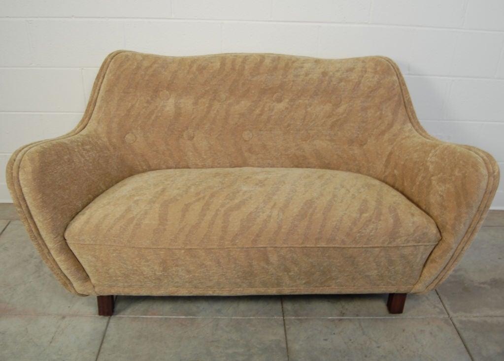 swedish art moderne sofa at 1stdibs. Black Bedroom Furniture Sets. Home Design Ideas
