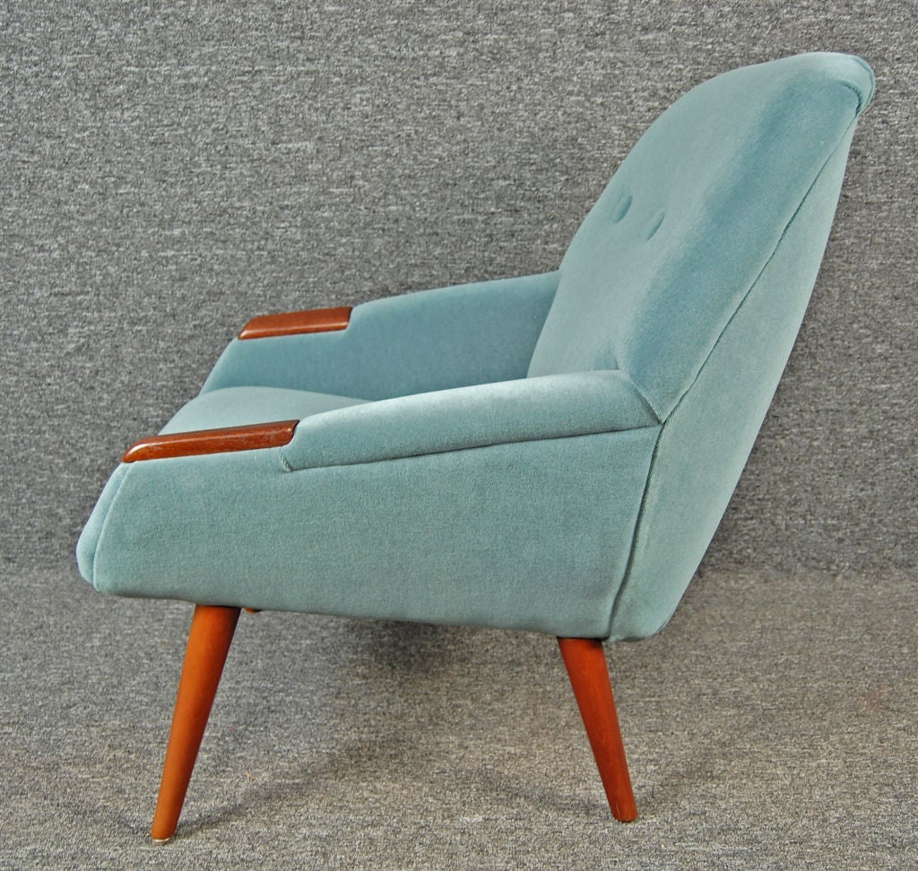Armchair Upholstery Upholstery Sale Swedish Mid Century Modern Teak Armchair At 1stdibs