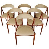 Set of Six Mid-Century Modern Jacaranda Dining Chairs