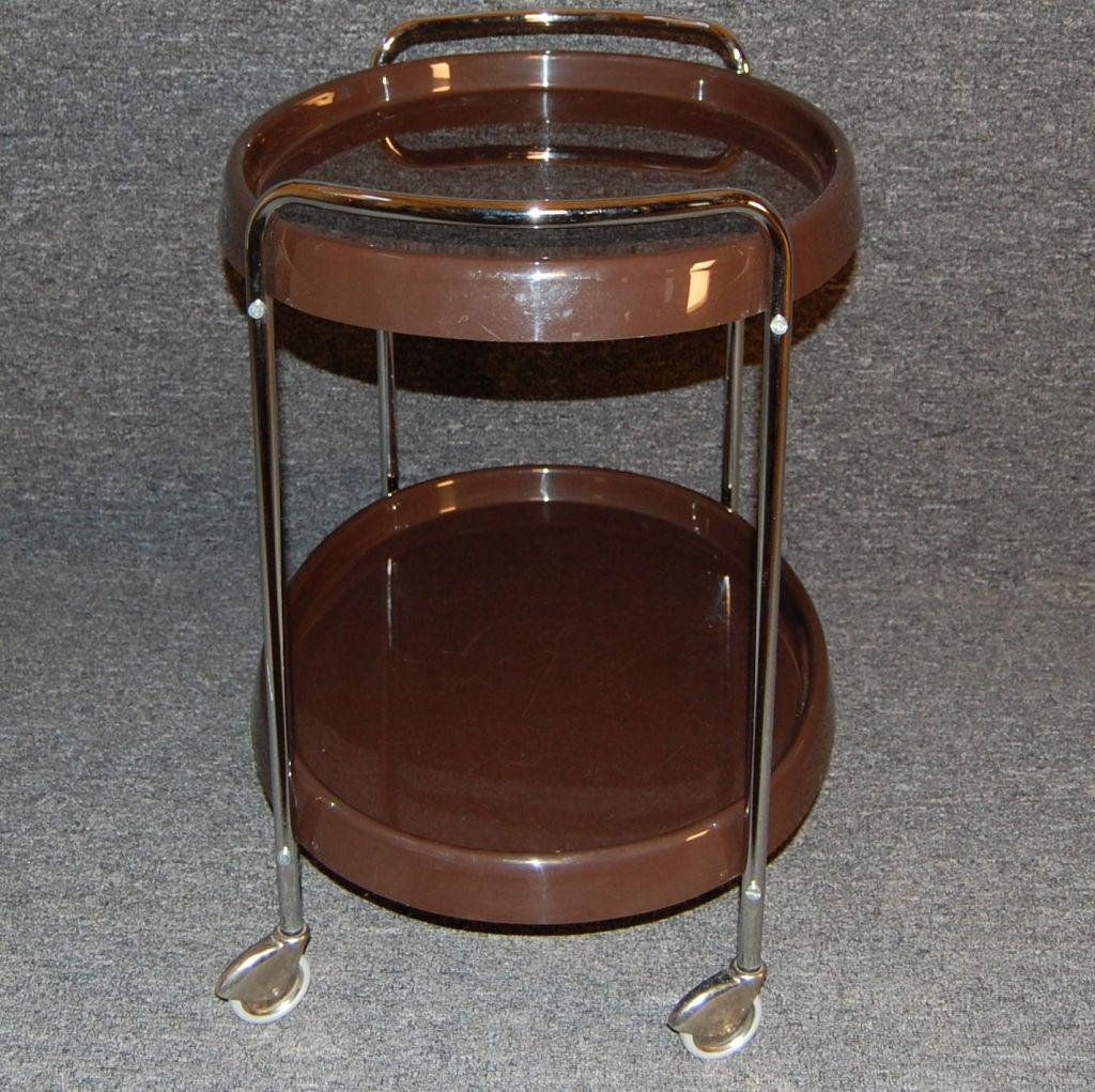 20th Century Swedish Mid-Century Modern Bar / Serving Cart For Sale