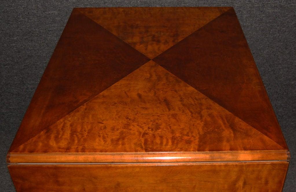Swedish Karl Johan (Biedermeier) Drop-Leaf Center Table For Sale 5