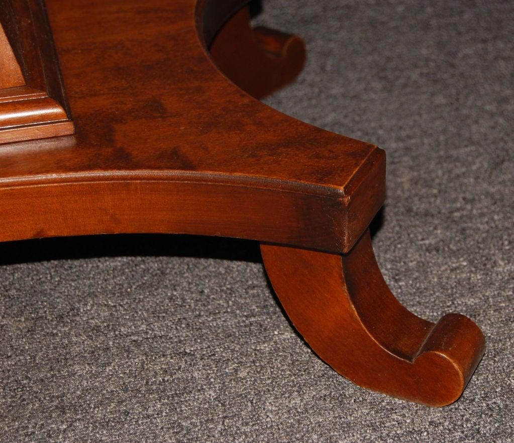 Swedish Karl Johan (Biedermeier) Drop-Leaf Center Table For Sale 7