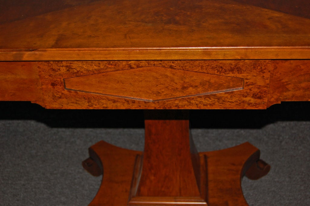 Swedish Karl Johan (Biedermeier) Drop-Leaf Center Table For Sale 6