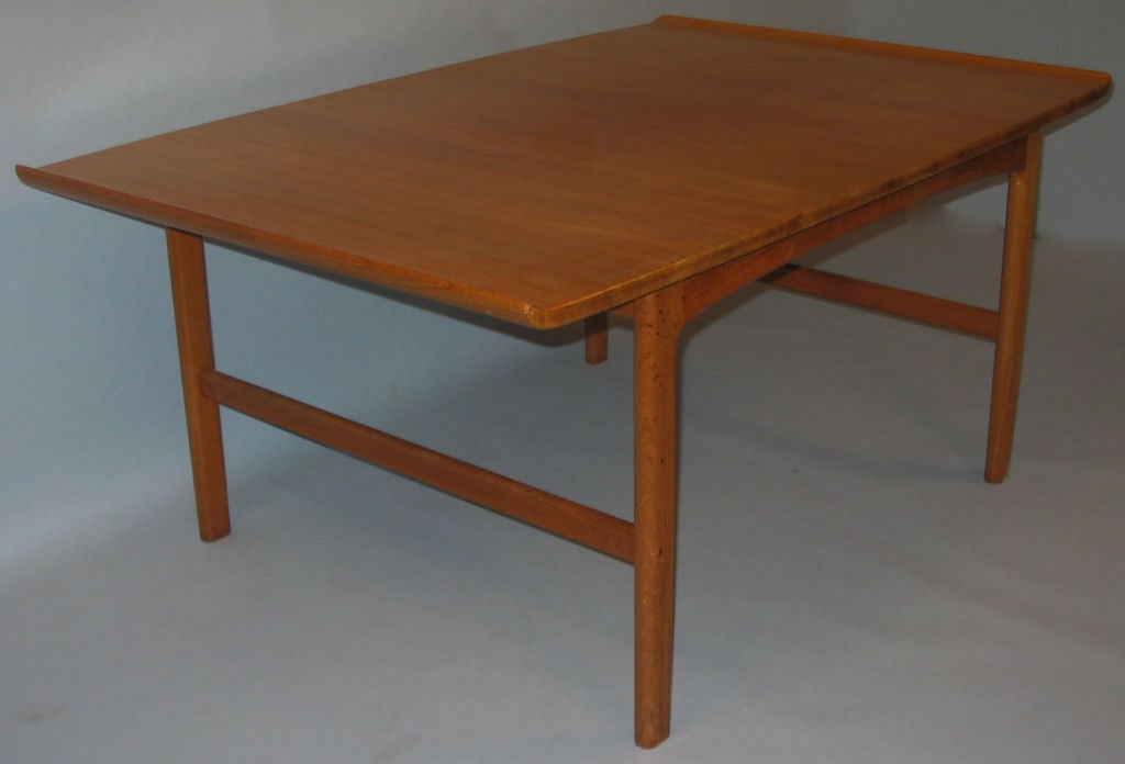 Mid Century Modern Teak Frisco Coffee Table By Folke Olsson For Sale At 1stdibs