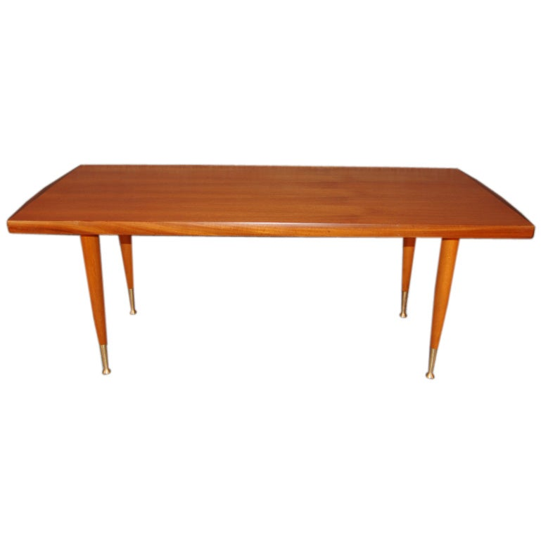 Swedish Mid-Century Modern Teak Coffee Table By Alberts Of