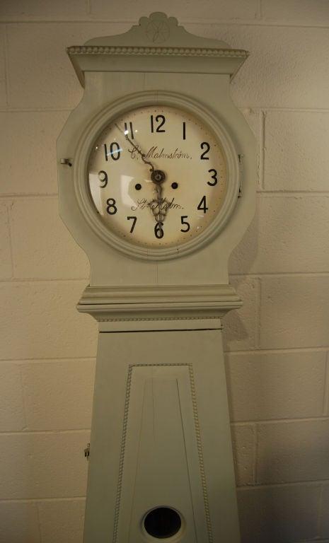 Antique Swedish Gustavian Floor Clock By C Malmstrom For