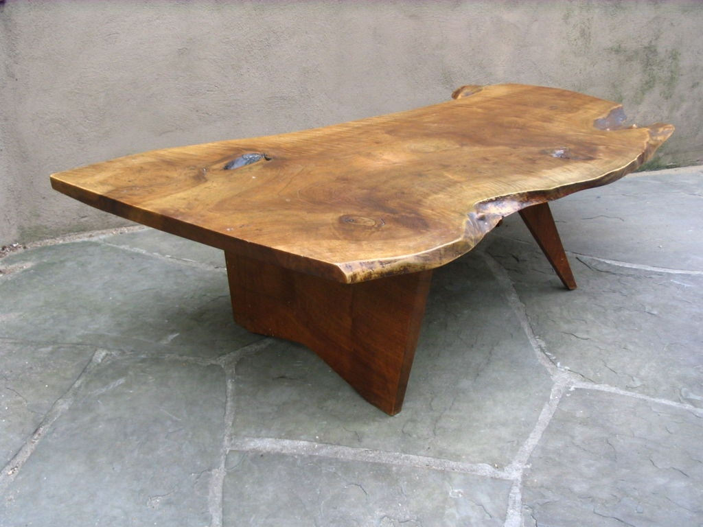 Free Edge Coffee Table By George Nakashima at 1stdibs