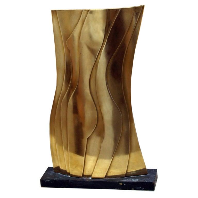 Original Gilt Bronze Sculpture by Artist: Dean Meeker