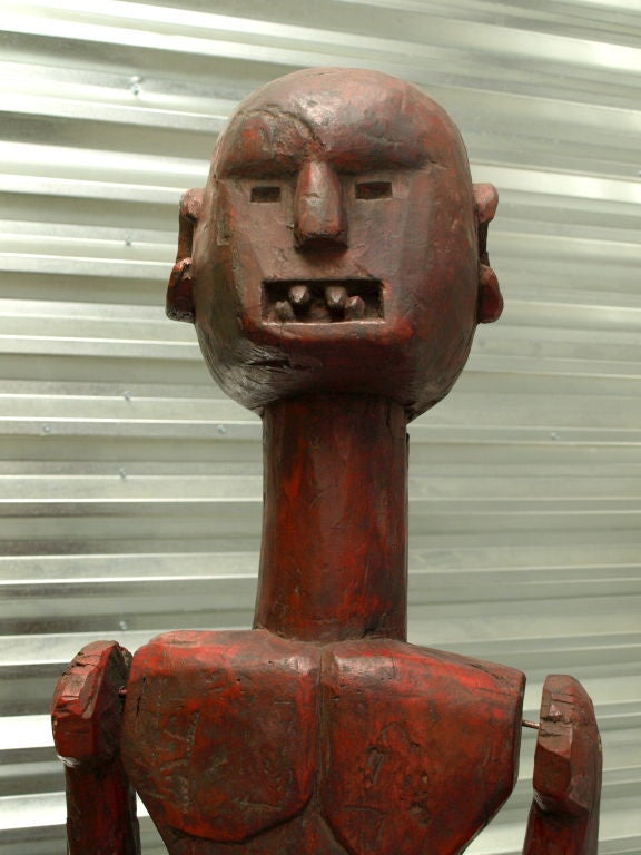 Lifesize African Male Figure For Sale 1