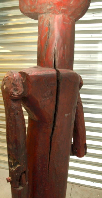 Metal Lifesize African Male Figure For Sale