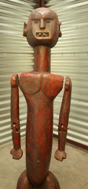 Tanzanian Lifesize African Male Figure For Sale