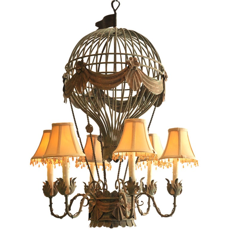 Hot Air Balloon Chandelier For