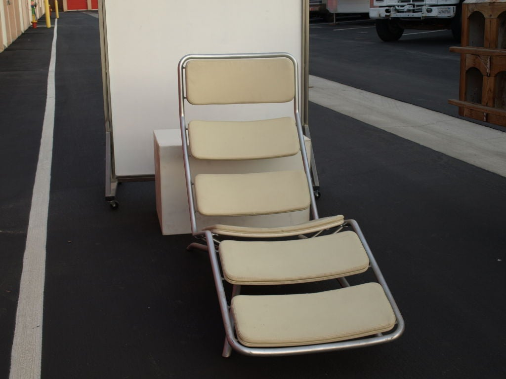 Italian prototype chaise lounge at 1stdibs for Bernard chaise lounge