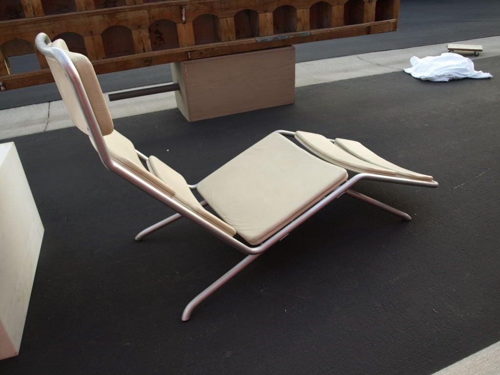 Italian prototype chaise lounge at 1stdibs - Chaise design italien ...