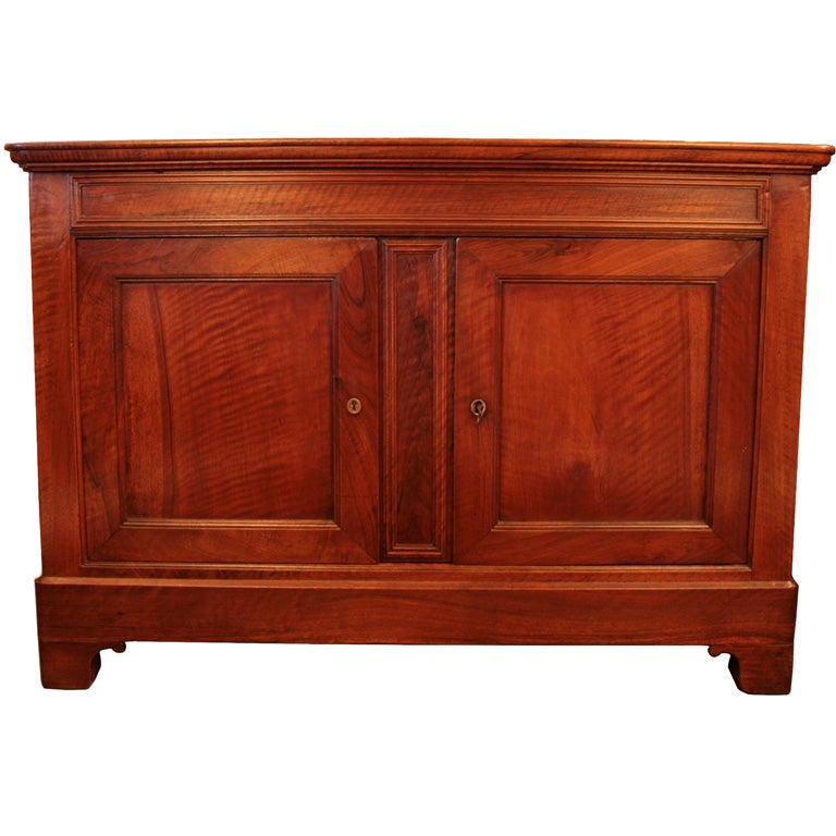 French restoration solid walnut buffet at stdibs
