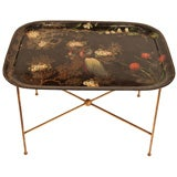 French Antique Napoleon III Tray Table