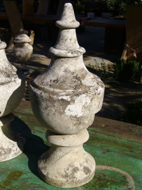18th Century French Stone Finials 3