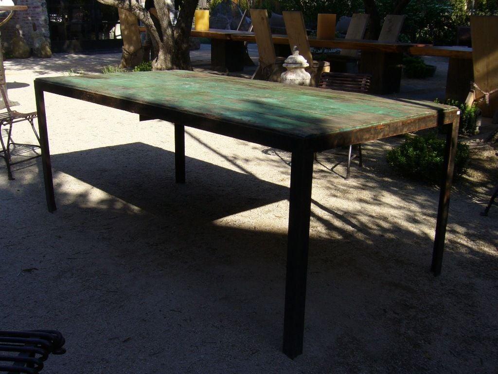 Green Outdoor Garden Table 2