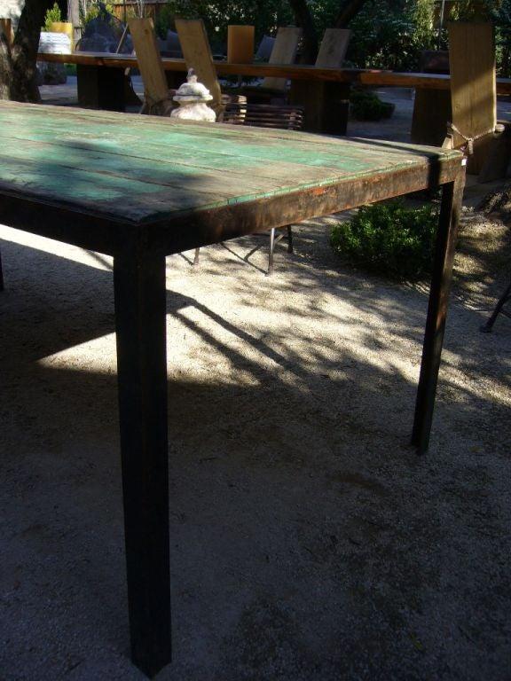Green Outdoor Garden Table 3