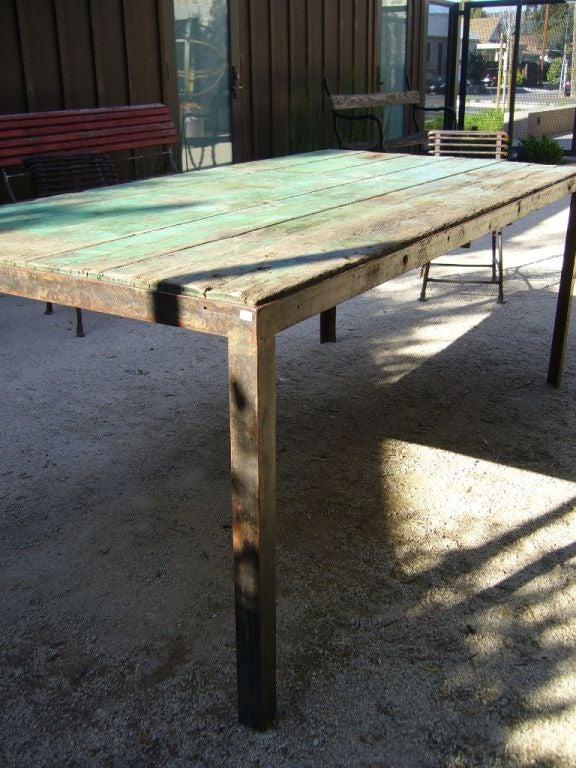 Green Outdoor Garden Table 4