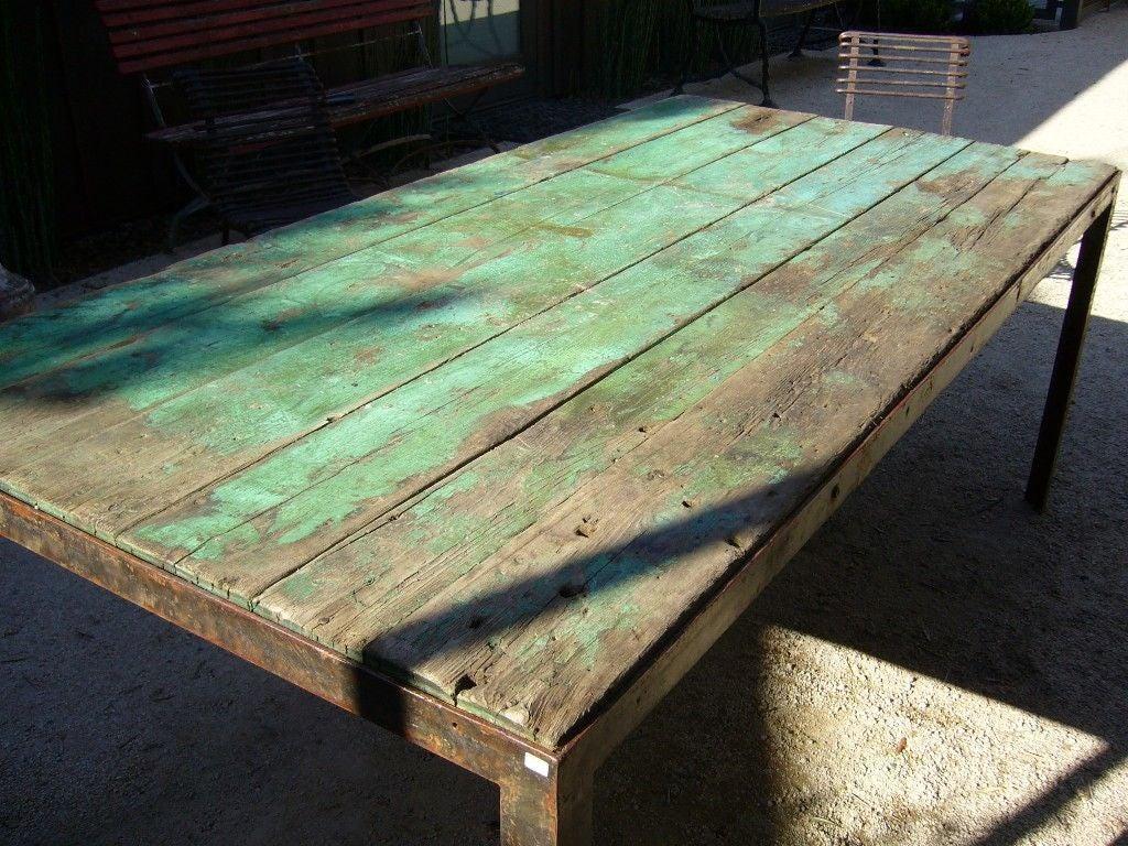 Green Outdoor Garden Table 5