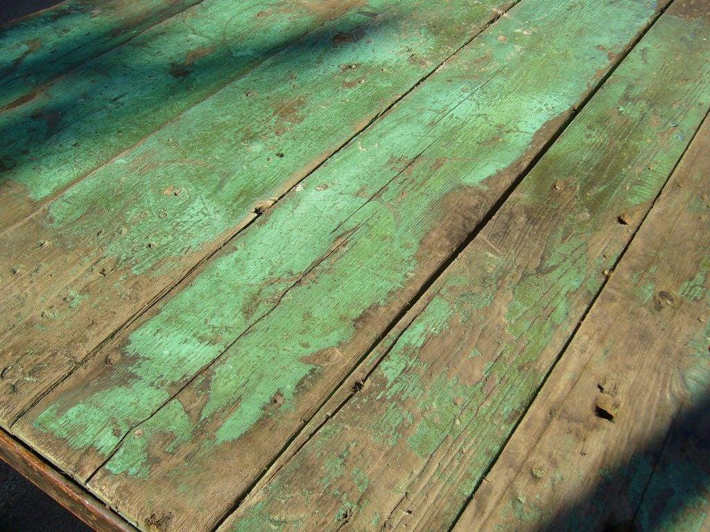 Green Outdoor Garden Table 6