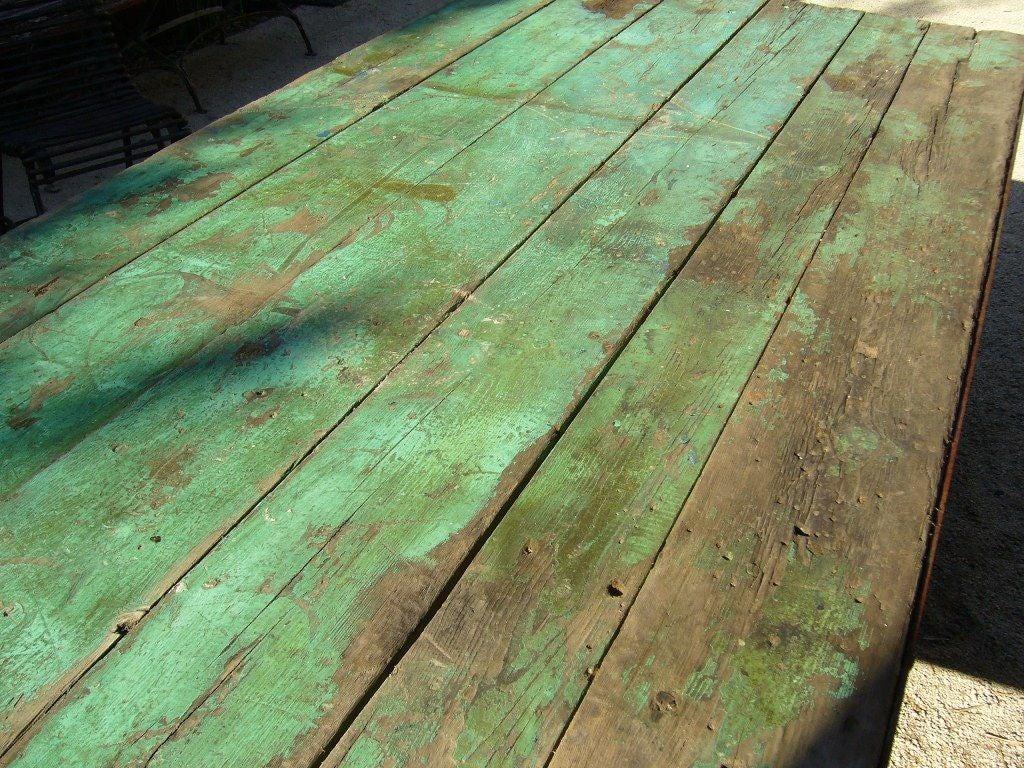 Green Outdoor Garden Table 7