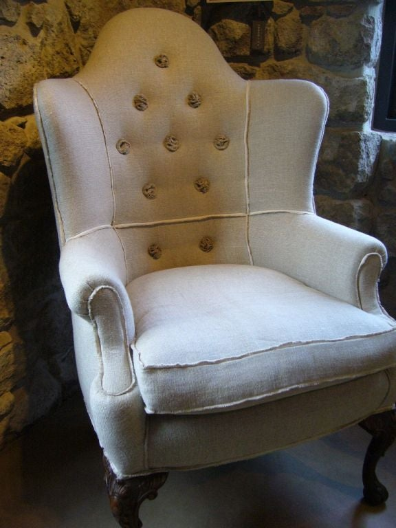 Queen Anne Style Corner Chair image 2