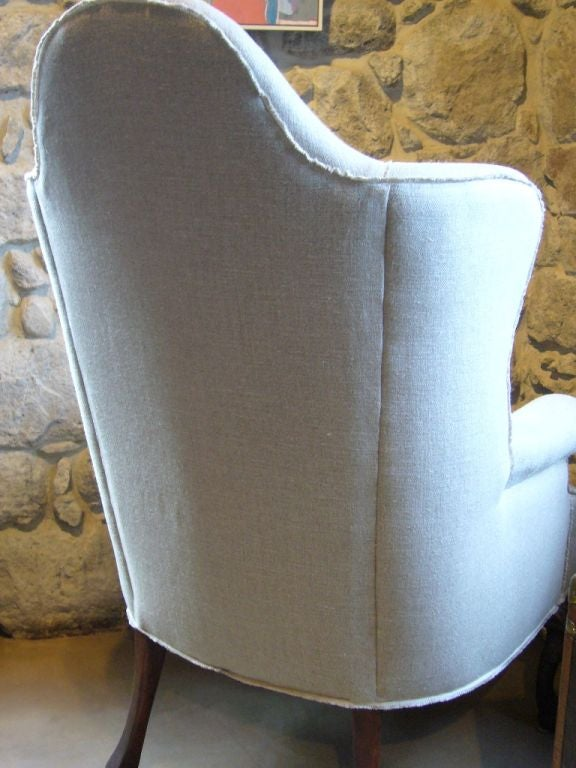 Queen Anne Style Corner Chair image 3