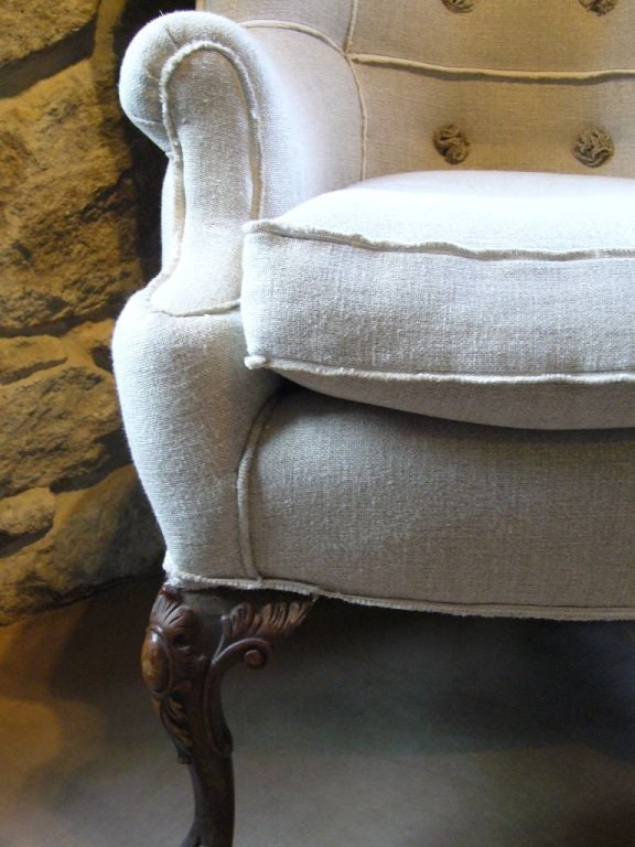 Queen Anne Style Corner Chair image 6