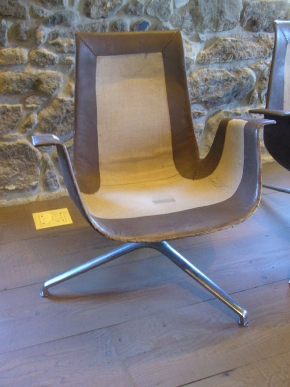 Fk Leather Bucket Chairs For Sale At 1stdibs