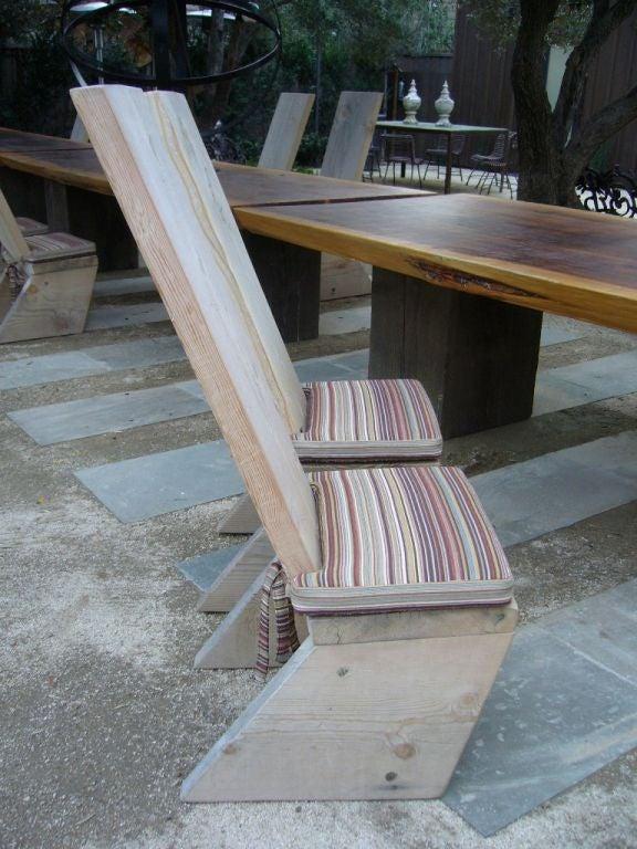 Ron Mann Highback Plank Chairs 3