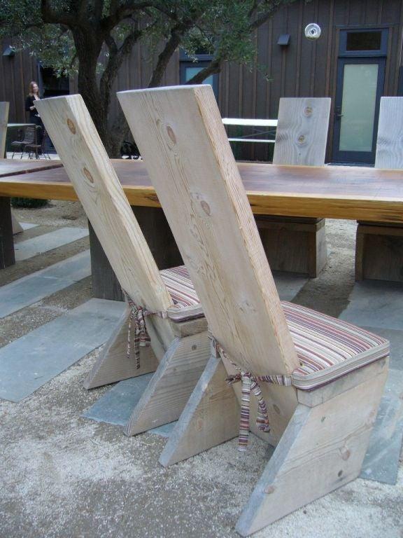 Ron Mann Highback Plank Chairs 4