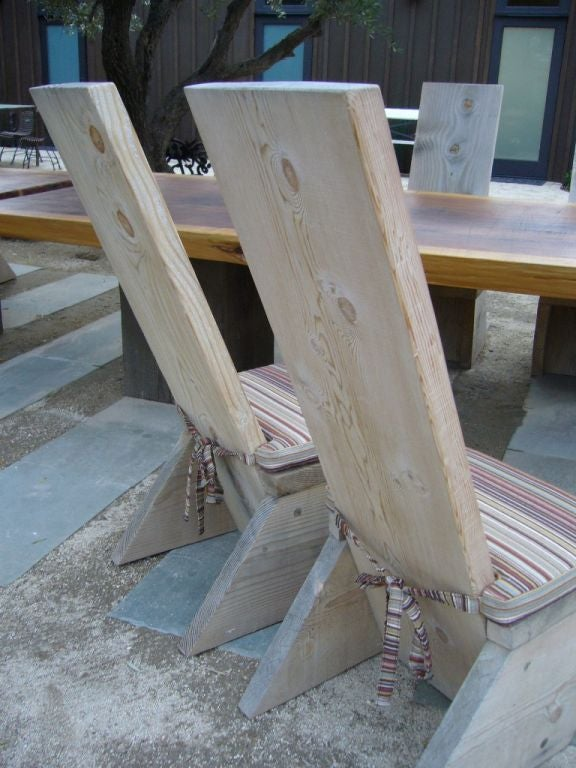 Ron Mann Highback Plank Chairs 5