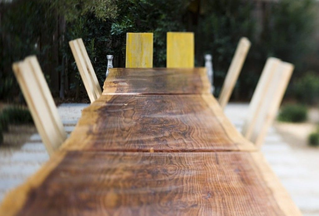 Ron Mann Redwood Table 6