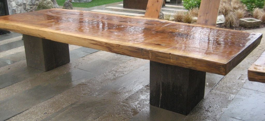 Ron Mann Redwood Table 2