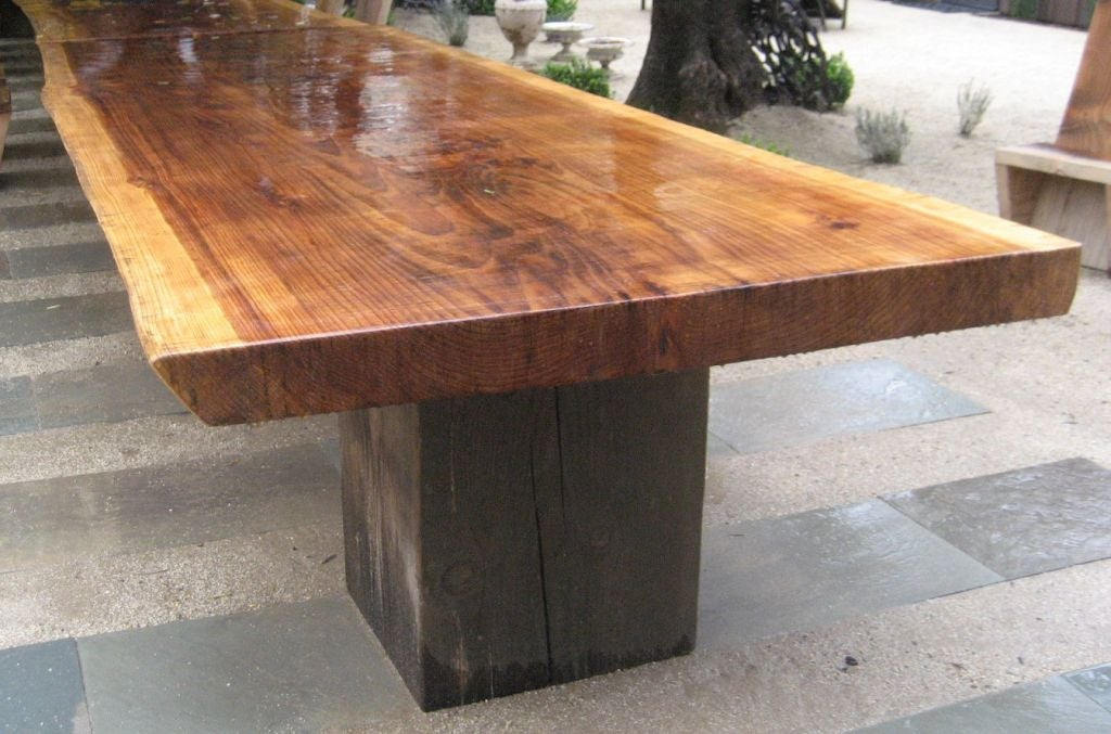 Ron Mann Redwood Table 7