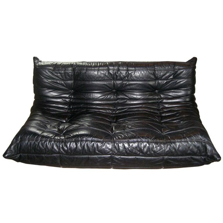 vintage ligne roset togo sofa at 1stdibs. Black Bedroom Furniture Sets. Home Design Ideas