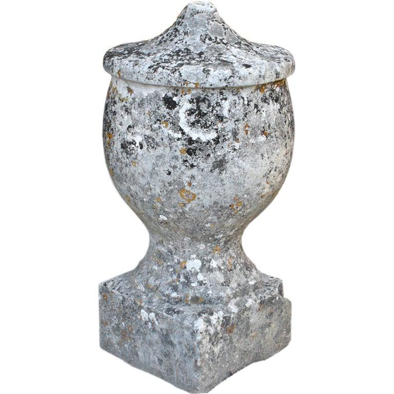 Vintage Stone Urn For Sale