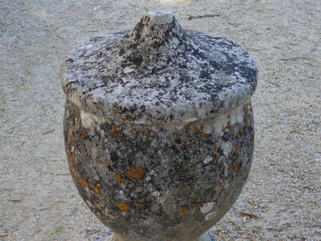 Vintage Stone Urn For Sale 3