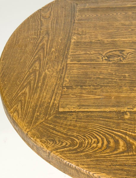 French faux bois table for sale at 1stdibs for Faux bois painting technique