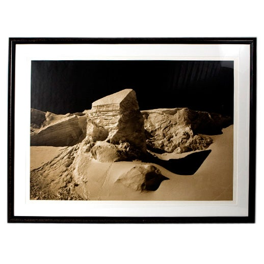 Very Large Mounted Photograph For Sale