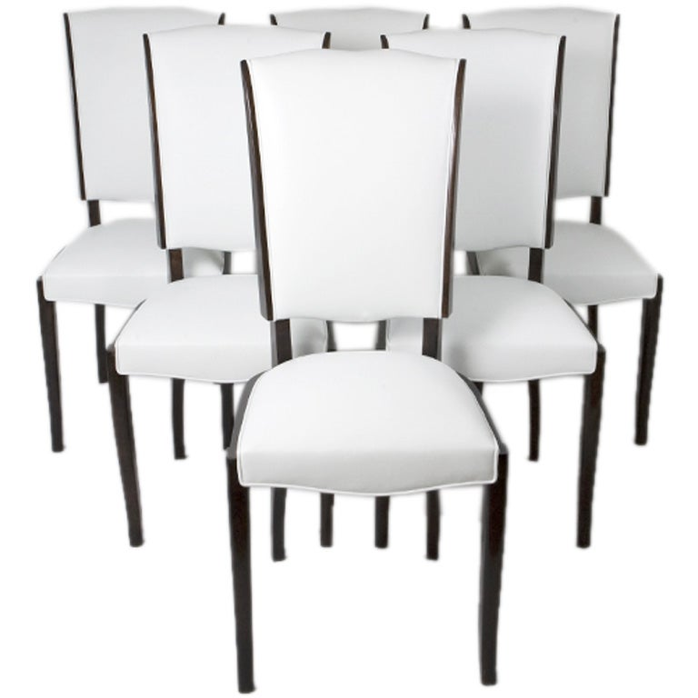 set of six french art deco dining chairs 1 art deco dining chairs