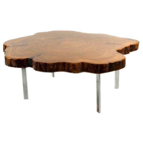 Redwood Tree Coffee Table: Redwood Coffee Table At 1stdibs