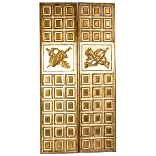 Mid-Century Door Panels For Sale