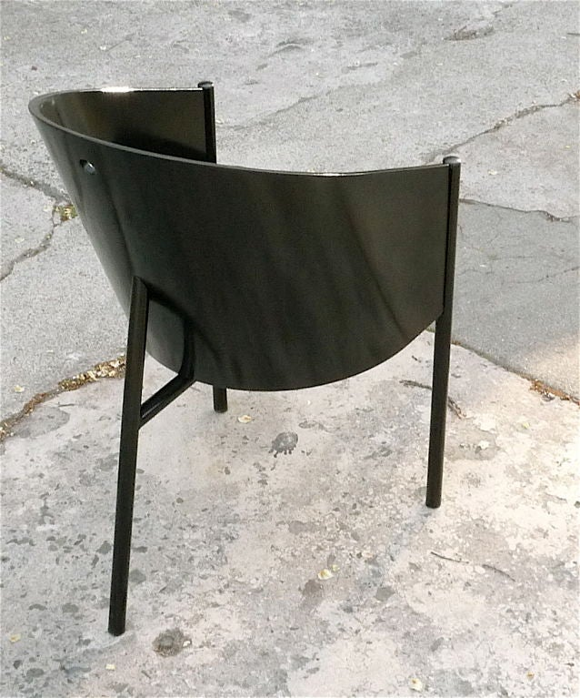 Set of 8 philippe starck costes chairs at 1stdibs for Philippe starck dining tables