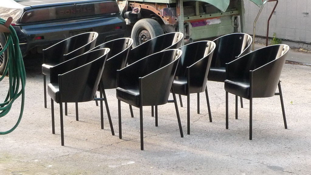 Set of 8 philippe starck costes chairs at 1stdibs - Cafe costes paris philippe starck ...