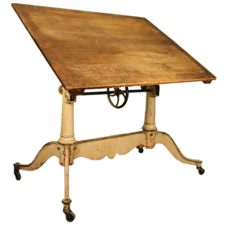 antique drafting table at 1stdibs